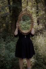 I Saw a Glimpse Inside the Mirror