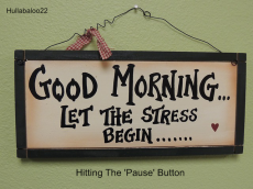 Hitting The 'Pause' Button