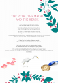 THE PETAL, THE MEDAL, AND THE HERON