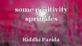 some positivity sprinkles
