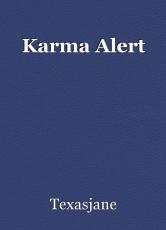 Karma Alert