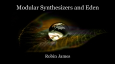 Modular Synthesizers and Eden