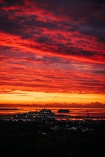 The Sunset Poem