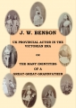 J. W. Benson – UK Provincial Theatre Actor in the Victorian Era OR The Many Identities of a Great-Great-Grandfather