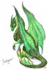 Green Eyes - Story of a Dragon