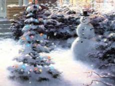 Soft Christmas Snowflakes