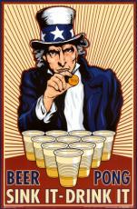 beer before liquor never been sicker ...