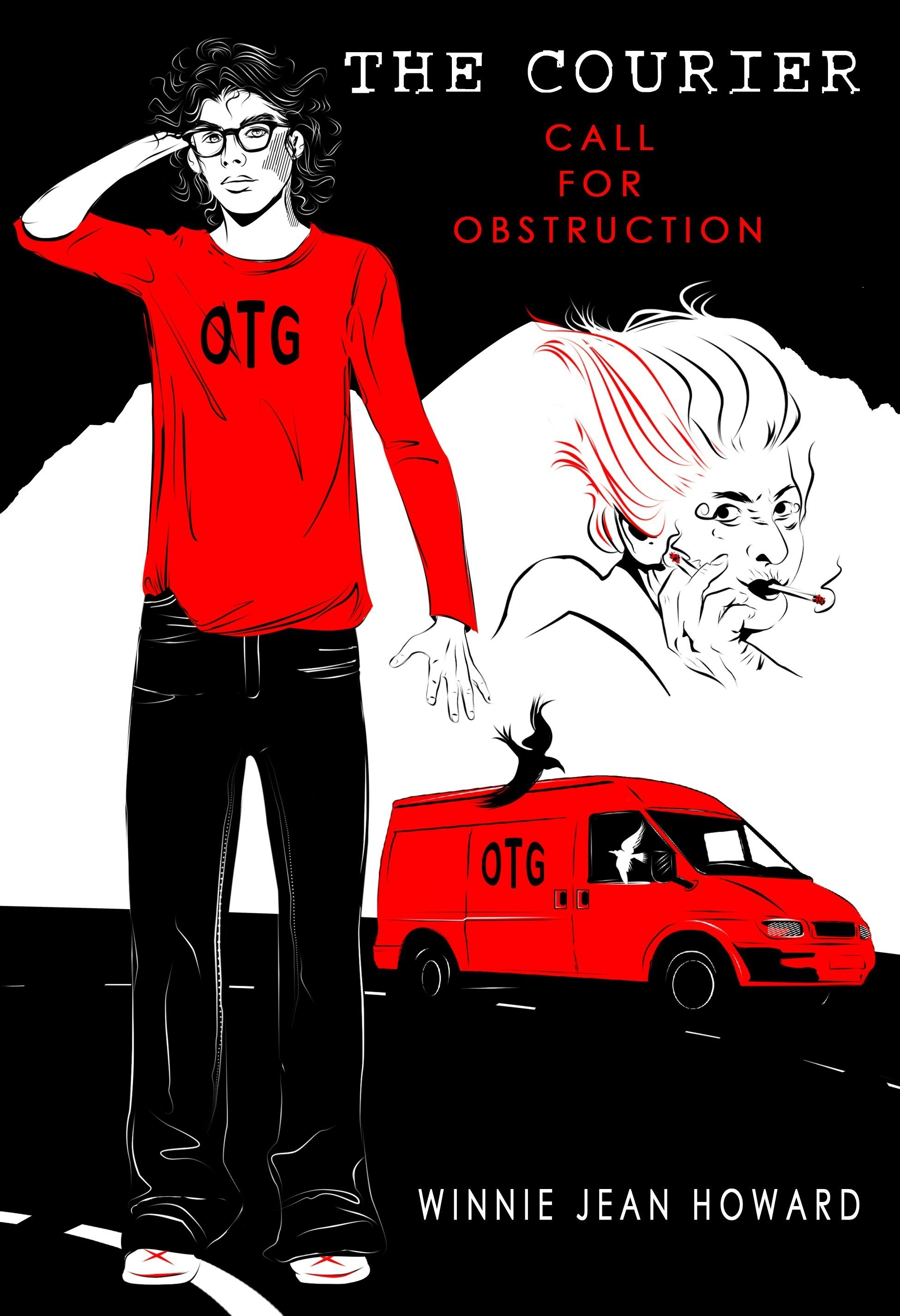 Call for Obstruction (The Courier #1)