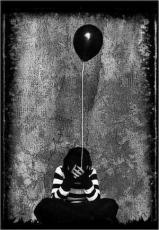 to the world a black balloon