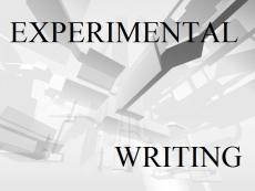 Experimental Writing