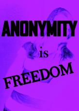 Anonymity is Freedom