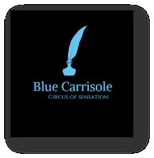 Blue Carrisole