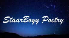StaarBoyy Poetry