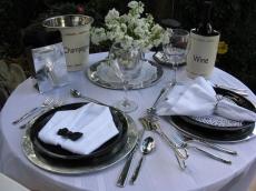Dinner at Tiffany's